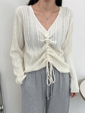 Loa Twisted String Knitwear