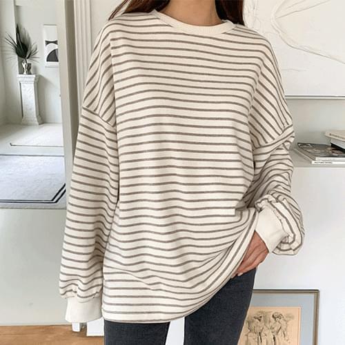 Land Loose-fit Striped Sweatshirt