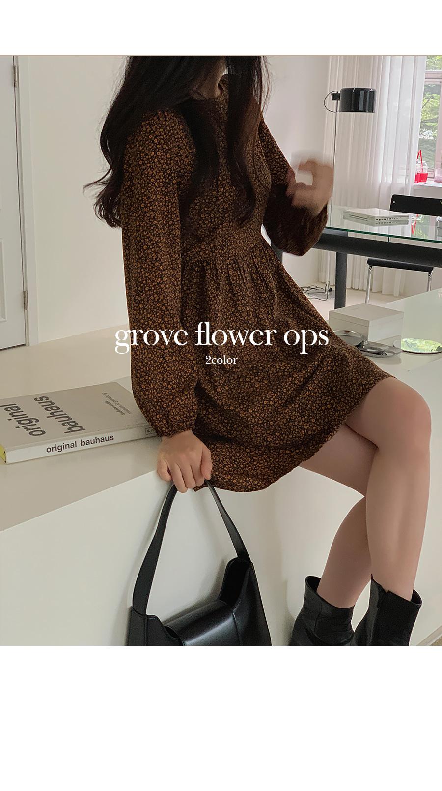 Grove Flower Dress