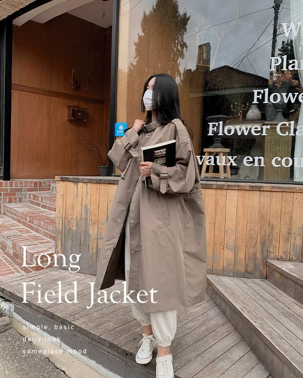 #made some moto long field jacket