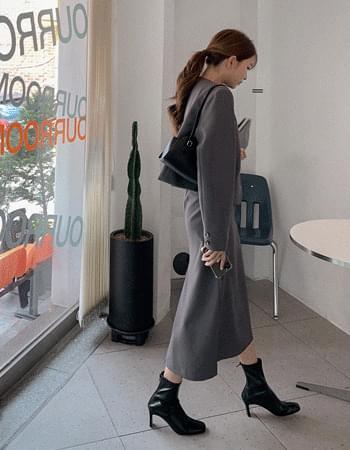Classy Anti-Banding Long Skirt