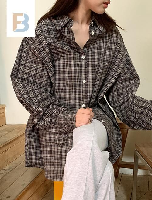 Pin Check Basic Shirt