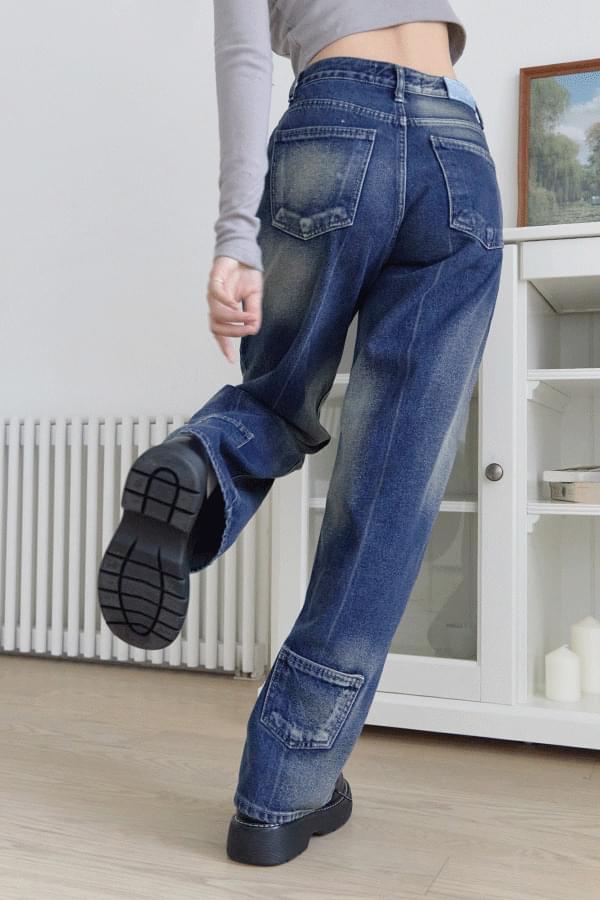 Verua back pocket denim pants