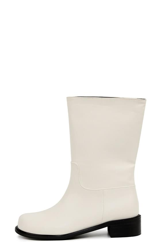 follow round mid calf boots