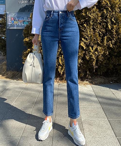 Standard Nan Spandex Slim Straight Jeans