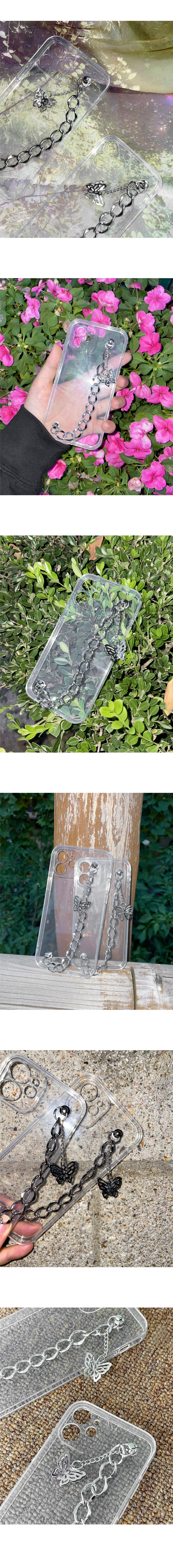 Bedy Butterfly Strap iPhone Case