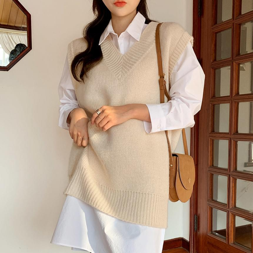 Holichachi Knitwear Vest