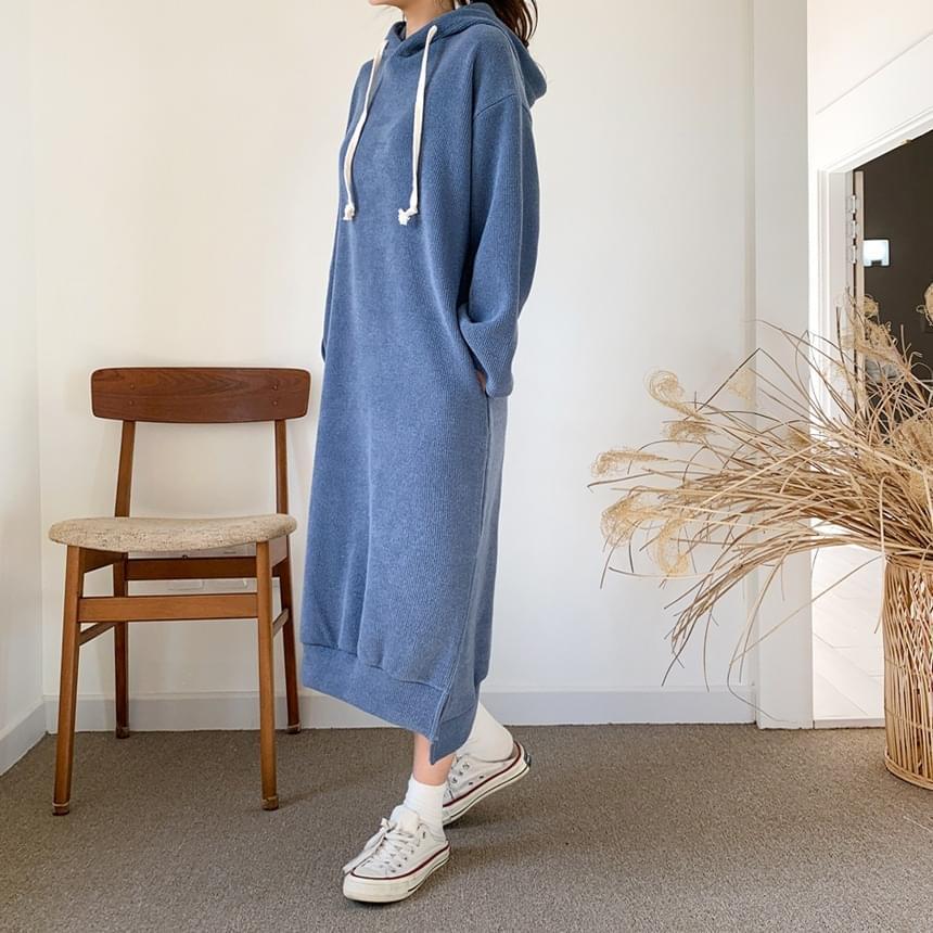 Life Hood Long Dress