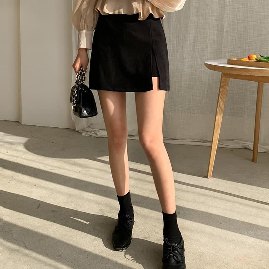 Cheese Soft Skirt Pants