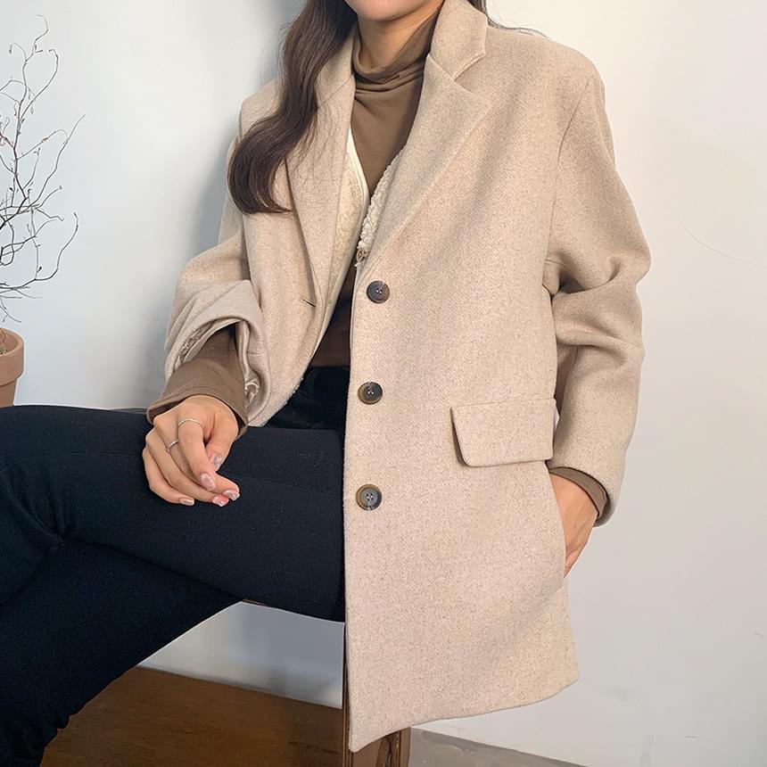 Signature Wool Coat