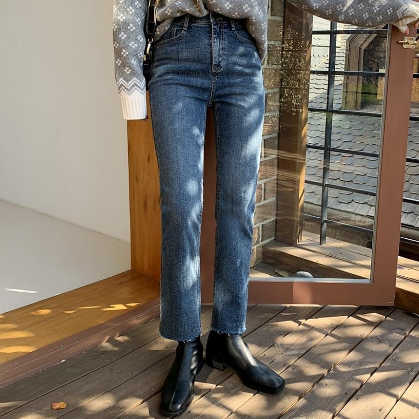 Quest Fleece-lined denim pants