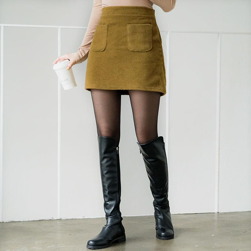 Choo Choo Pocket Skirt