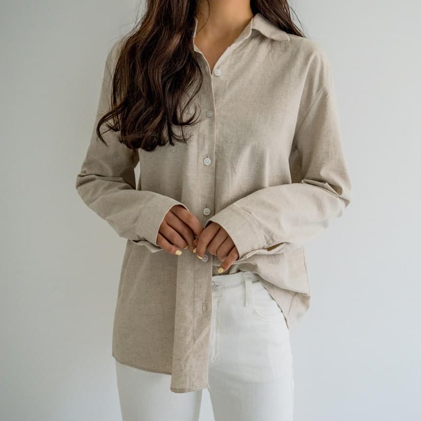 Wearable linen shirt