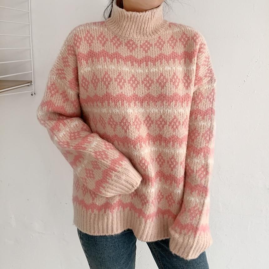 Ready Candy Turtleneck Knitwear
