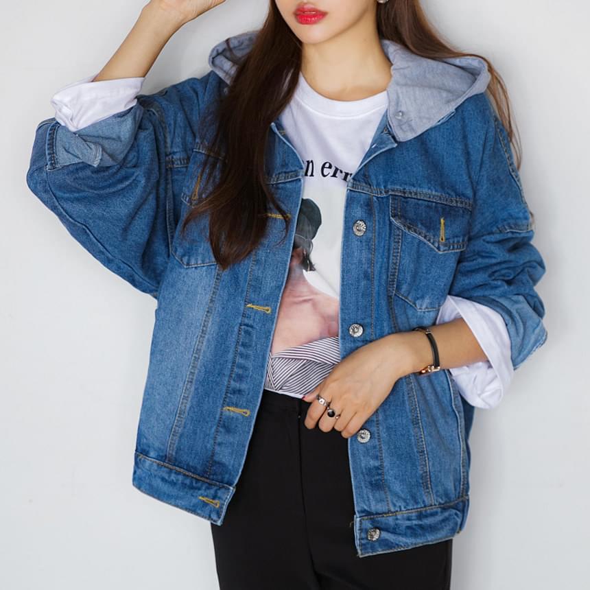 Hood Fence Blue Jacket