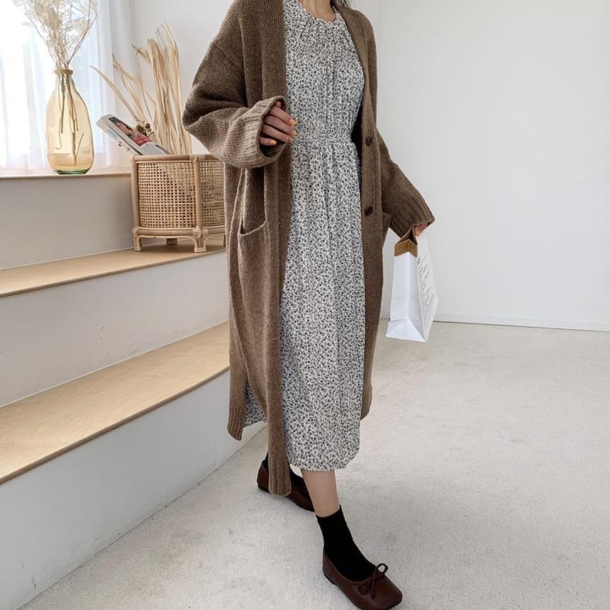 Chelsea Long Knitwear Cardigan