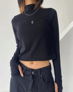 Softy Fleece-lined Warmer Turtleneck T-shirt