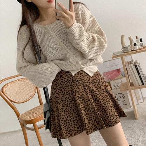 Tik Tok Leo Mini Skirt