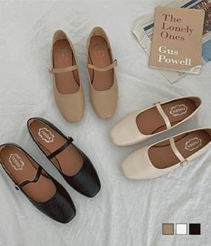 lovely mary jane flat shoes
