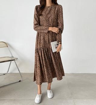 Hopi Shirring Puff Dress #38082
