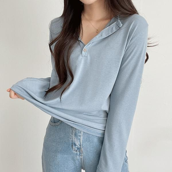 Yeori fit thick long sleeve tee