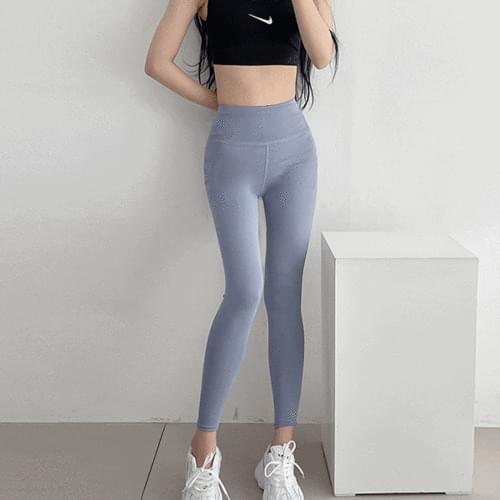 Stitched High Waist Matte Leggings Sportswear Yoga Pants Pilates