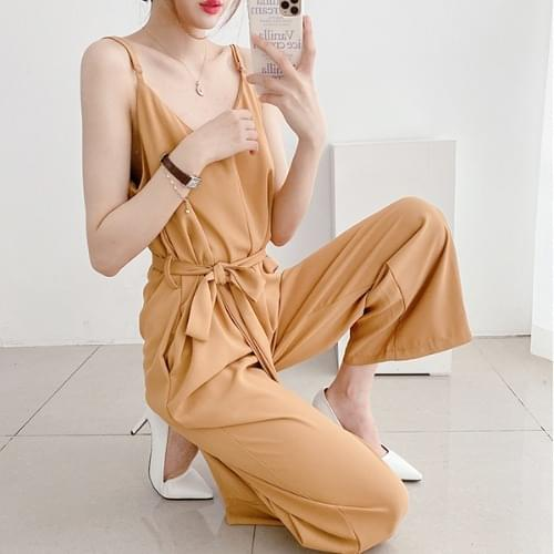 Chalangchalang City Overall Wide Jumpsuit 3color