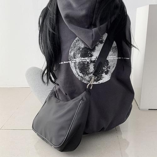 Casual Half Moon Two Bag Bucket Cross Bag