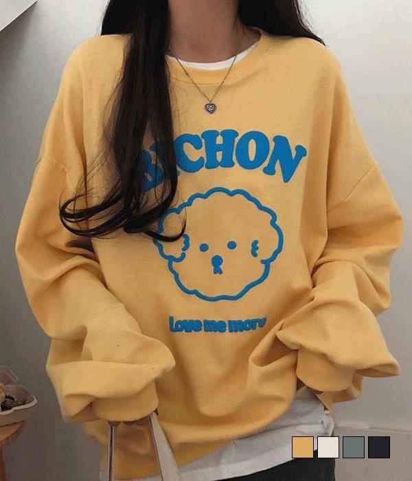 Bichon Loose-fit Sweatshirt