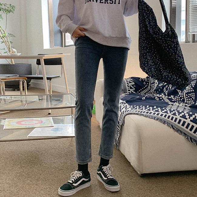 Out of fashion skinny denim pants 牛仔褲
