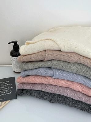 Go Silminja V-Neck Loose-fit Knitwear