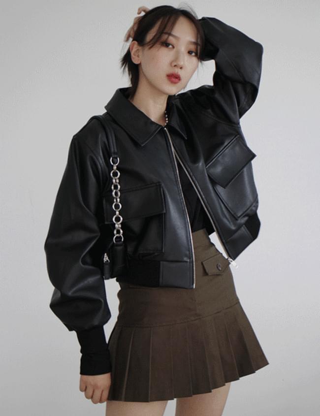Bread Leather Jacket
