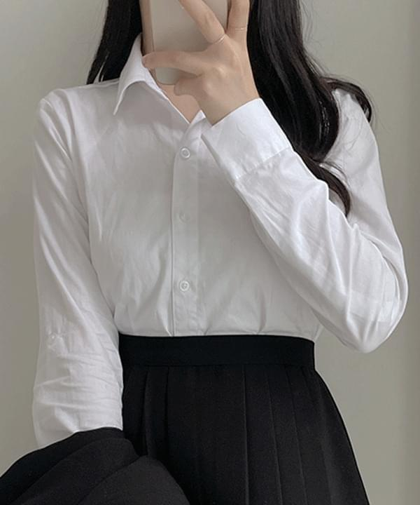 Select Basic Shirt Blouse - one color