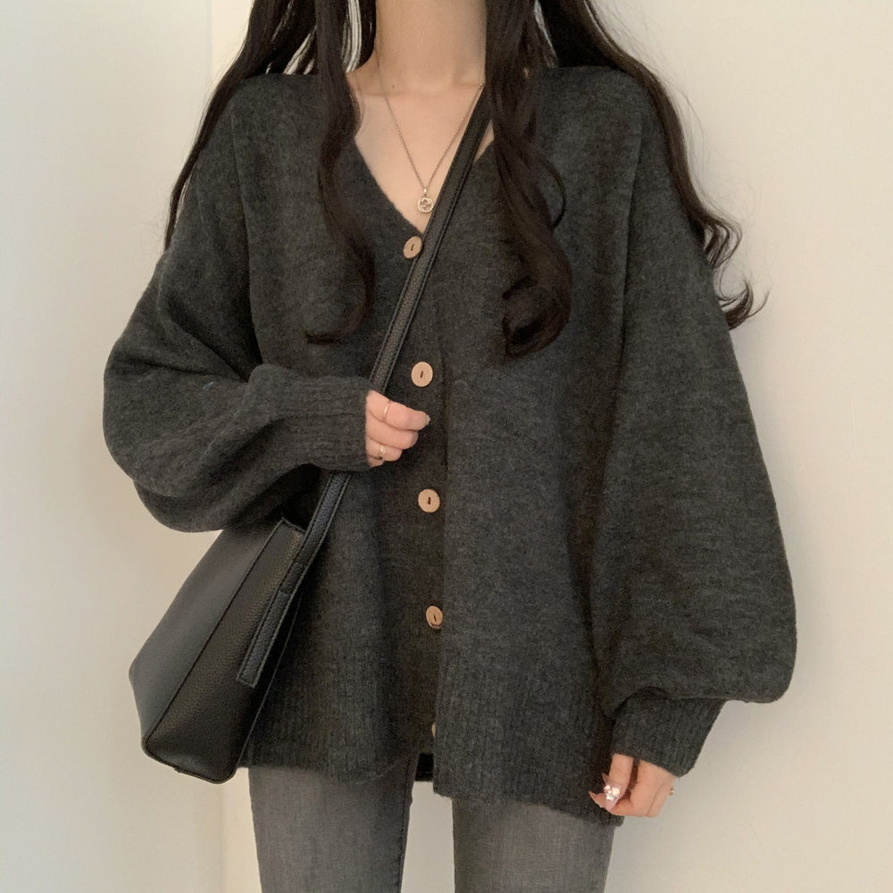 A warm and cozy cardigan to wear