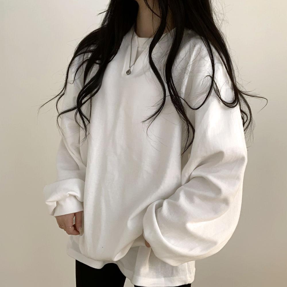 Vのひらき無知スウェットシャツ