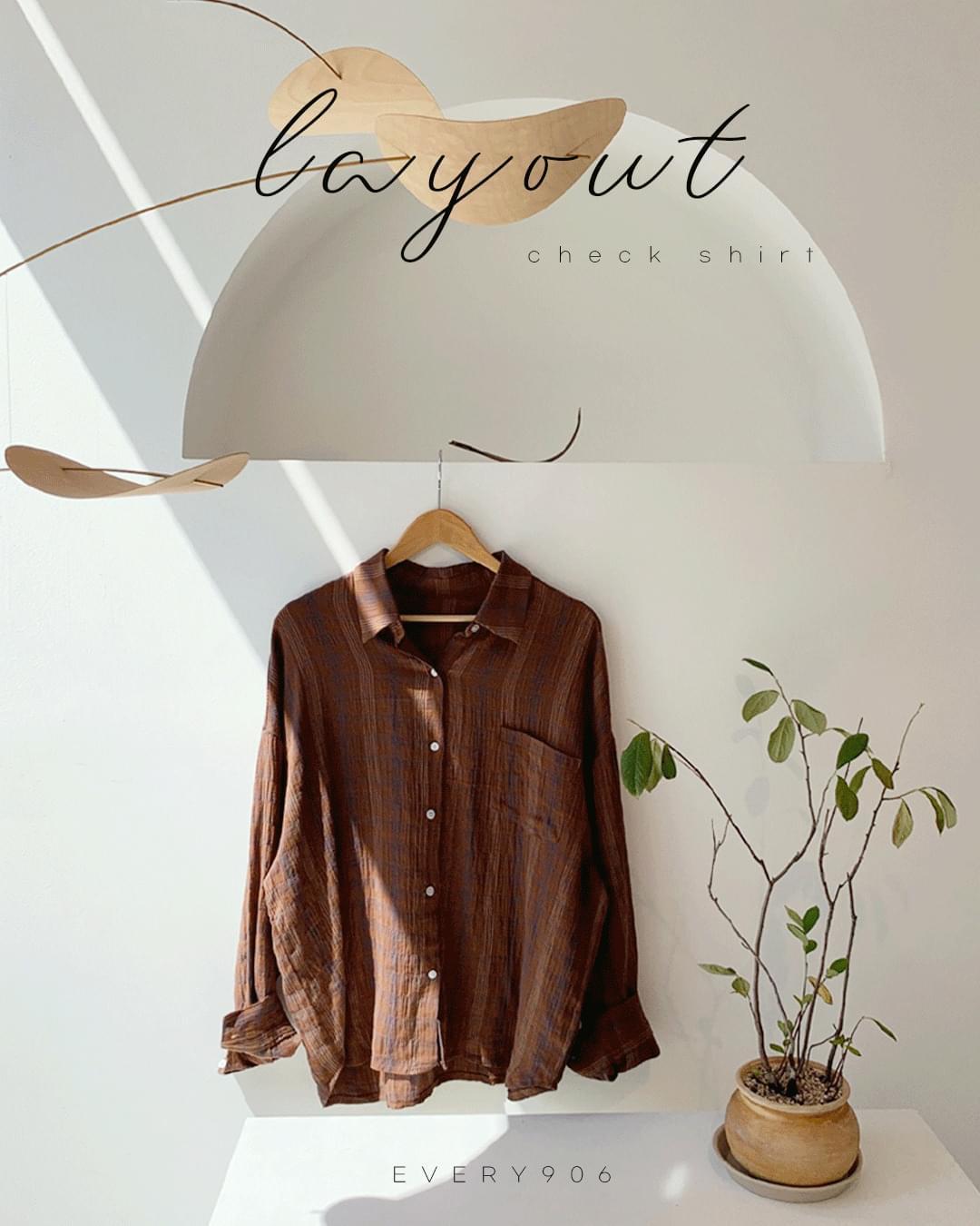 layout check shirt