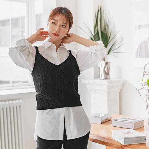 Twi Knitwear Bustier