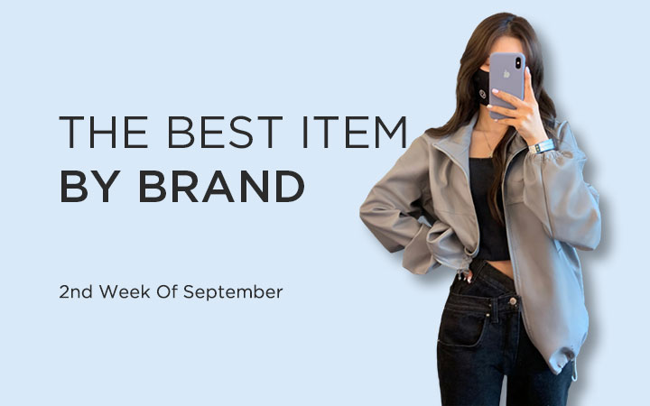 THE BEST ITEM BY BRAND - 2nd Week Of September