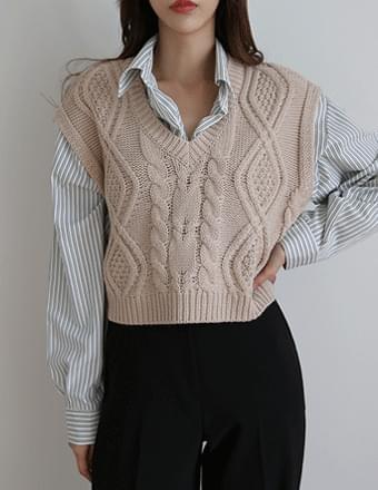 Cherubim* Twisted Knitwear Best