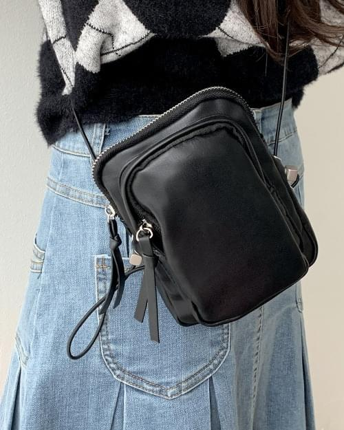 Lil' Leather String Mini Crossbody Bag