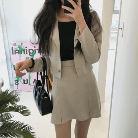 Cracker Jacket + Skirt Set