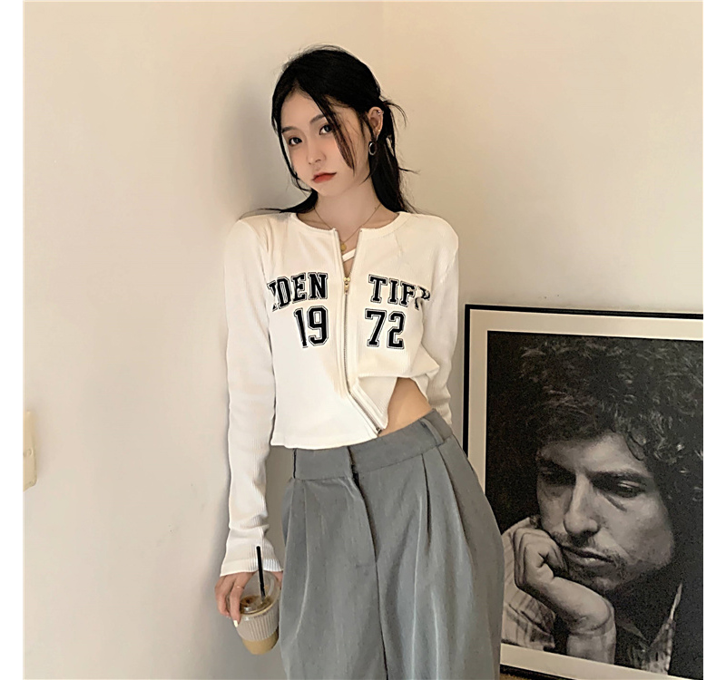 tt6022 Aiden Ribbed zip-shirts