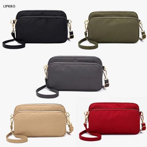 Prada Fabric Cross Bag Passport Bag
