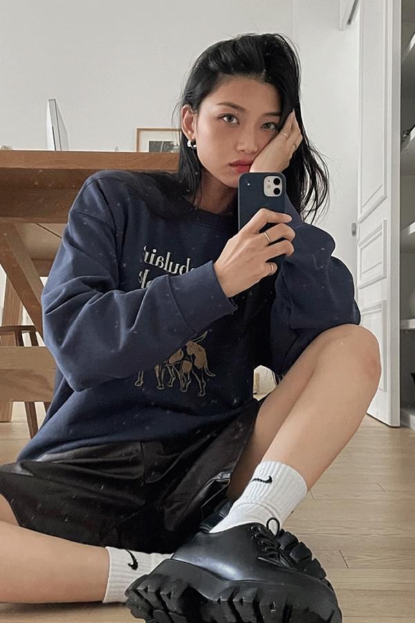Cansery Printing Sweatshirt