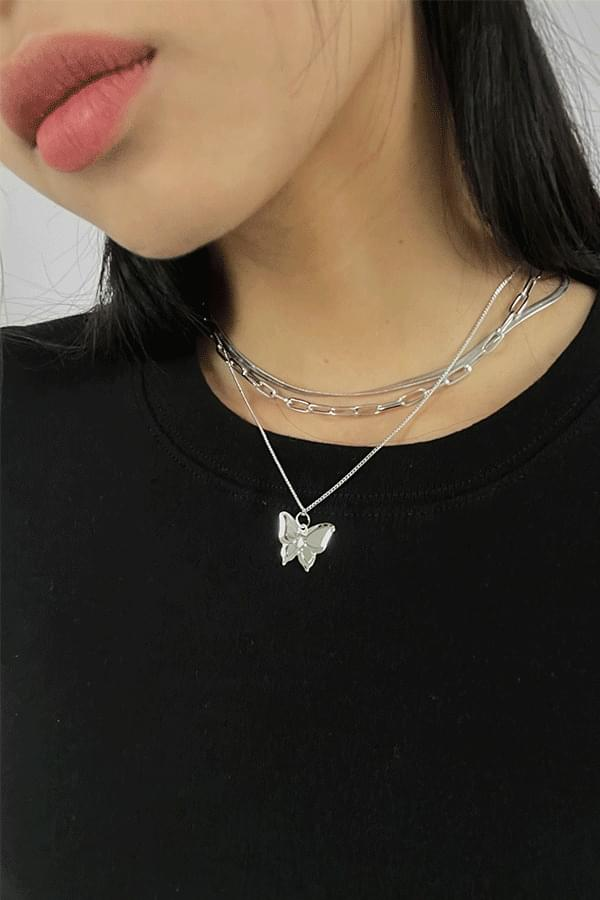 Butterfly 3 set necklace