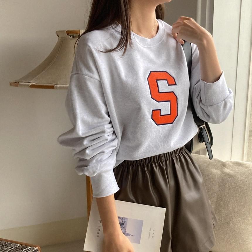 Alphabet Sweatshirt