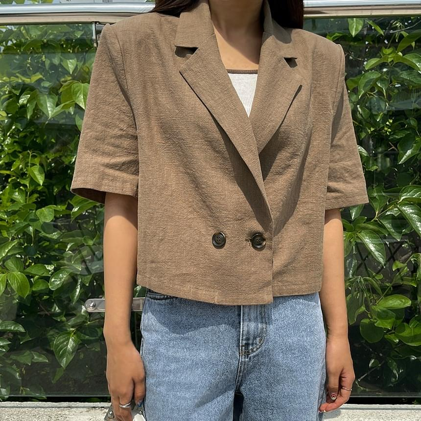 Nani double cropped jacket