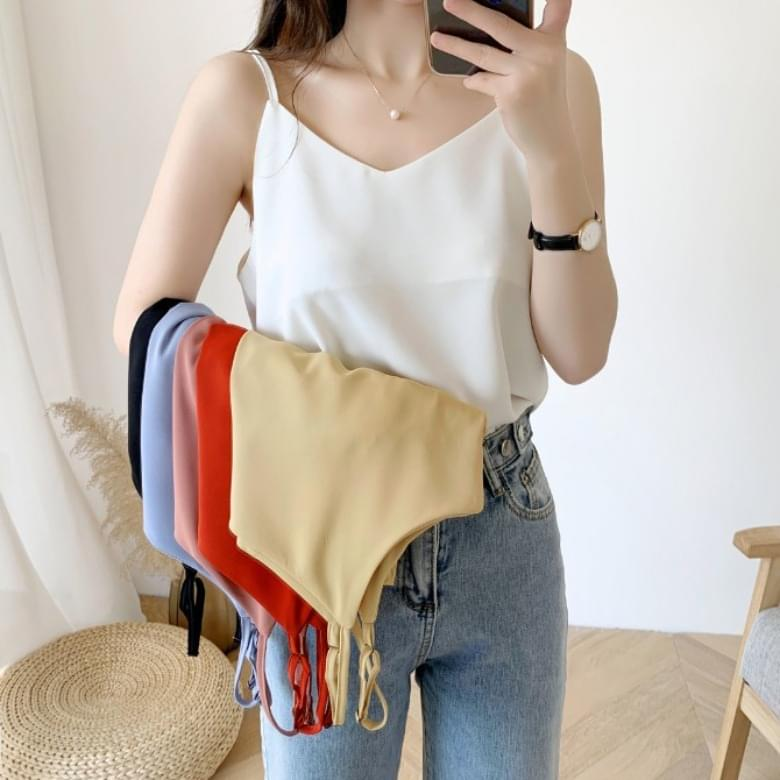 single cami blouse sleeveless