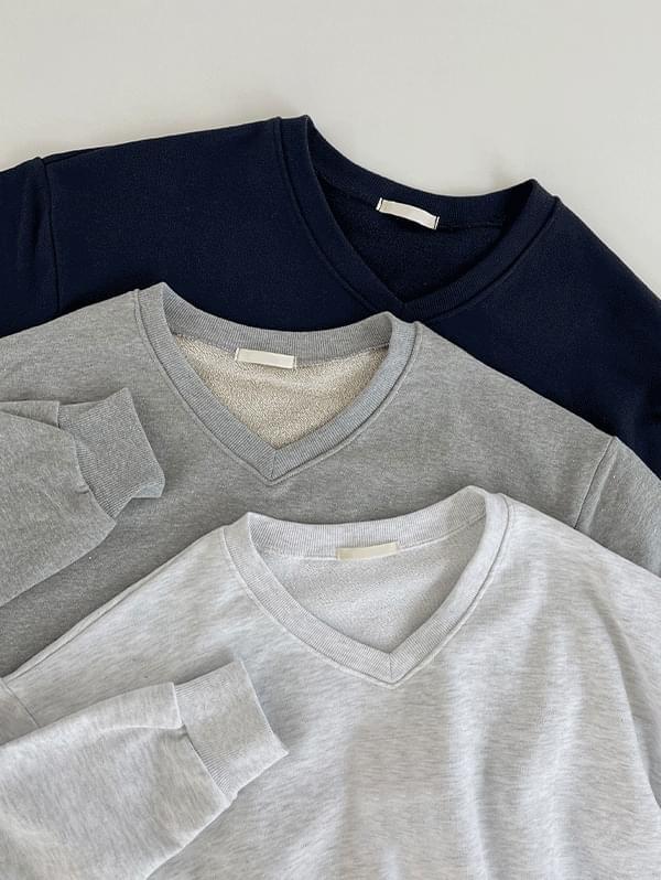 Your own Loose-fit V - V-Neck long - sleeved man - to - Sweatshirt - 3color