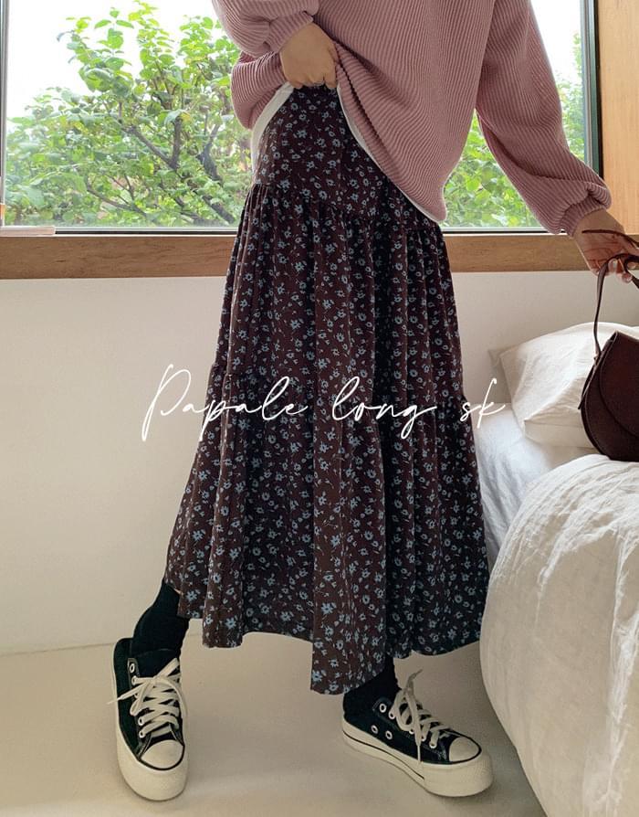 long sleeved skirt